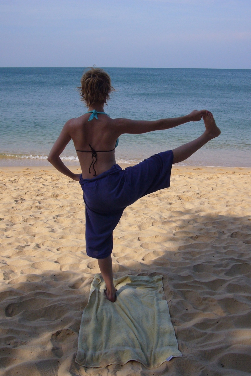 Yoga - Self Practice in Vietnam