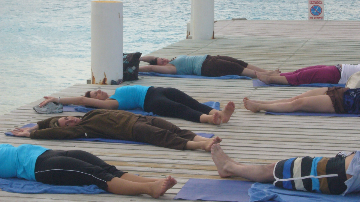 Yoga Class - Turks and Caicos